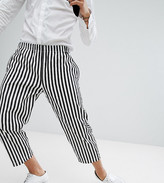 Reclaimed Vintage Halloween Inspired Relaxed Trousers In Stripe