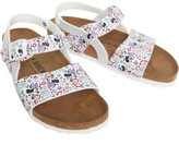 Birkenstock Junior Girls Isabella Birko-Flor Narrow Fit Sandals Lovely Minnie White