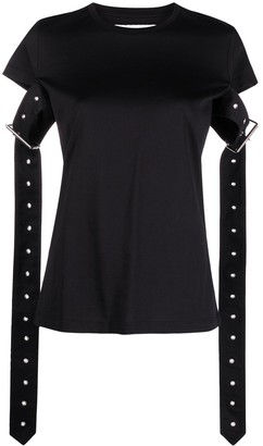 Marques Almeida belted cotton T-shirt