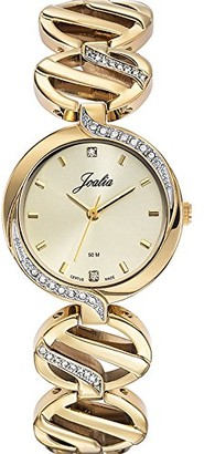 Joalia 631744-Women's Quartz Analogue Watch-Golden Metal Bracelet Golden Dial