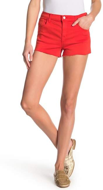 Low Rise Solid Shorts