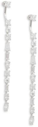 Adriana Orsini Crystal Linear Drop Earrings