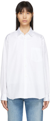 Comme des Garçons Shirt White Poplin Forever Shirt