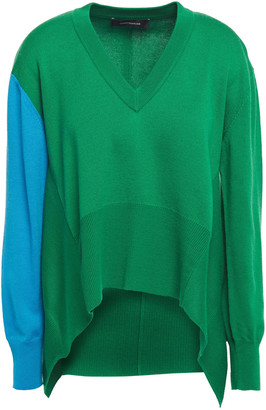 Cédric Charlier Draped Wool Sweater