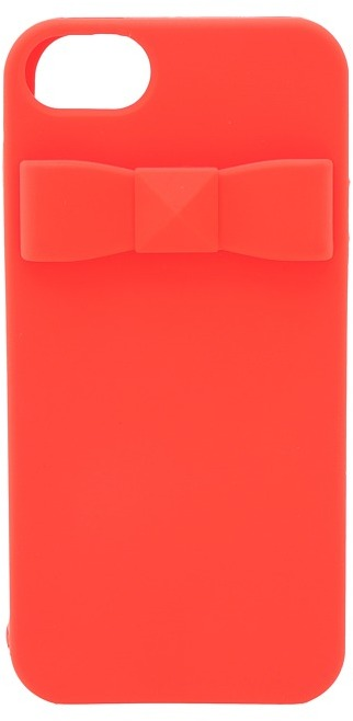 Kate Spade Stud Bow Phone Case For iPhone 5 and 5s (Maraschino) - Bags and Luggage