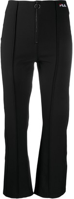 Fila Embroidered-Logo Slim Trousers