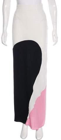 Roksanda Colorblock Maxi Skirt
