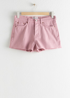 And other stories Raw Hem Denim Shorts