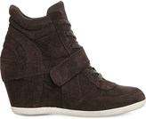 Ash Bowie wedge suede ankle boots