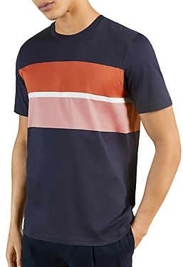 Ted Baker Frontro Color Block Crewneck Tee
