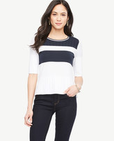 Ann Taylor Tennis Sweater Tee