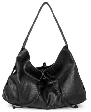 T Tahari Liza Leather Hobo