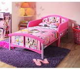 Disney Minnie Mouse Pink/Purple/White Plastic Toddler Bed