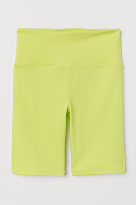 H&M Cycling Shorts - Yellow