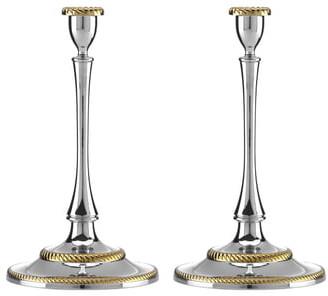 Reed & Barton Roseland Set of 2 Candlesticks