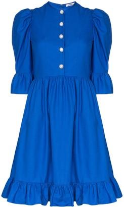 Batsheva Prairie ruffled mini dress