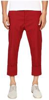 Vivienne Westwood James Bond Stretch Cotton Cropped Trousers