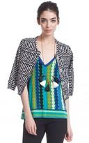 Tracy Reese Taped Cardigan