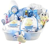 Silly Philly Pampered New Baby Boy Bath Time Gift Basket - Great Shower Gift Idea for Newborns by Forbidden Luxury