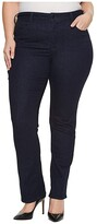 NYDJ Plus Size Plus Size Plus Size Marilyn Straight Jeans in Rinse (Rinse) Women's Jeans