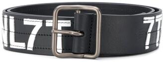 Diesel 3D logo belt