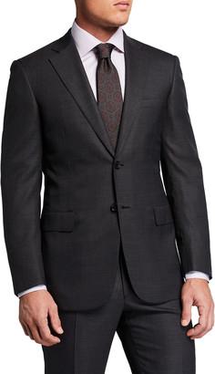 Brioni Men's Plaid Super 150s Wool Two-Piece Suit