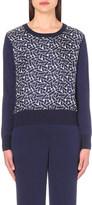 Diane von Furstenberg Orla knitted jumper