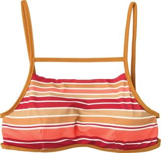 RVCA Women's Stripe Type Bralette Bikini Top