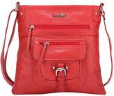 Ann Creek Women's Glenford Leather Satchel Bag