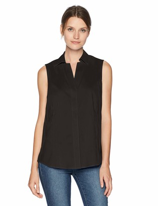 Foxcroft Women's Taylor Sleevless Non Iron Stretch Shirt