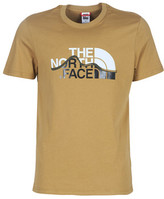 The North Face MENS S/S MOUNTAIN LINE TEE men's T shirt in Brown