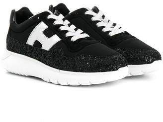 Hogan Embellished Low Top Sneakers
