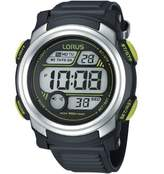 Lorus Men's R2317GX9 Digital Rubber Quartz Watch