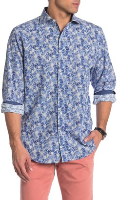 Bugatchi Classic Fit Long Sleeve Button-Down Shirt