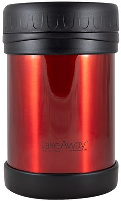 TakeAway Out Double Wall Stainless Steel Food Jar Red 750ml