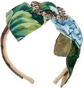 Dolce & Gabbana Ortensia Print Hairband