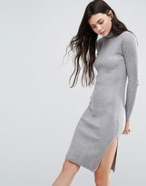 Vero Moda High Neck Long Sleeve Dress