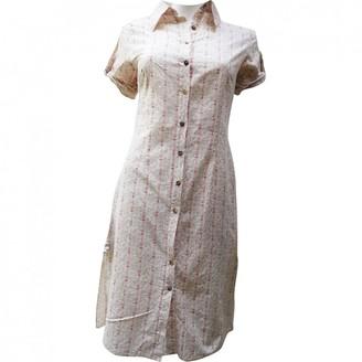 La Petite Francaise White Cotton Dress for Women