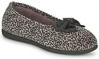Isotoner 97261 women's Flip flops in Brown