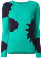 Etro floral pattern pullover