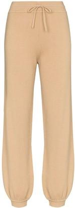Chloé Cash cashmere track pants