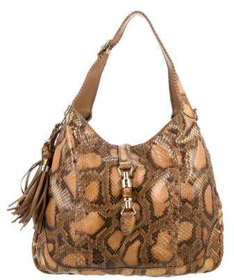 59df9a78ed3 Gucci Python Handbag - ShopStyle