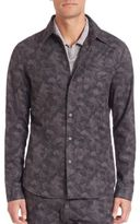 John Varvatos Reversed Seam Shirt