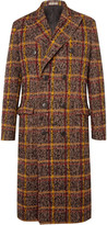 Bottega Veneta - Double-breasted Checked Wool-blend Coat