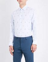 Paul Smith Mens Light Blue Buttoned Adorable Shirt