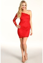 Type Z Larah Lace Dress (Red) - Apparel