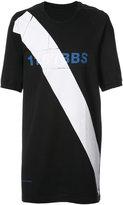 11 By Boris Bidjan Saberi diagonal logo T-shirt