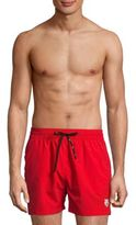 Kenzo Solid Tie-Front Swim Shorts