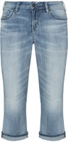 Silver Jeans Plus Size Suki cropped jeans