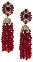 Marchesa Tassel Linear Earrings